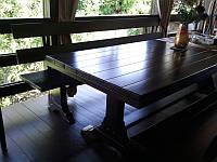 Столы деревянные по индивидуальным заказам