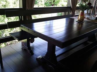 Столи дерев'яні за індивідуальними замовленнями