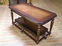 Изготовление столиков журнальных из натурального дерева