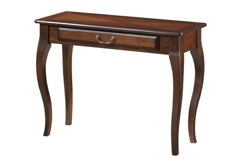 Изготовление столов консольных из натурального дерева