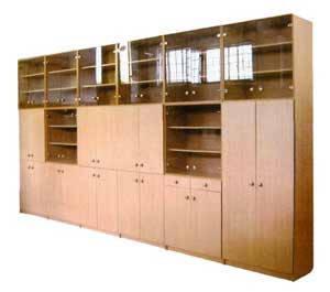 Шкафы деревянные для школы на заказ