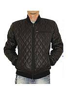 Демисезонная мужская  куртка AMERIKA  батал черный