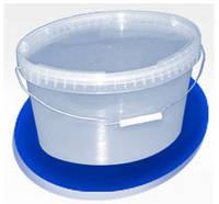 Ведра пластиковые пищевое овальное 10л
