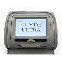 Монитор-подголовник Klyde Ultra 747 HD с DVD серый (17404)