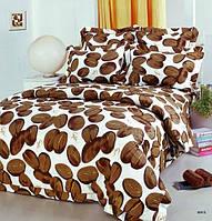 Полуторный комплект постельного белья Кофейные зерна