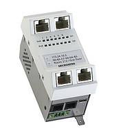 Микро-коммутатор Microsens MS450187M-G6+ (6x10/100/1000Base-T)