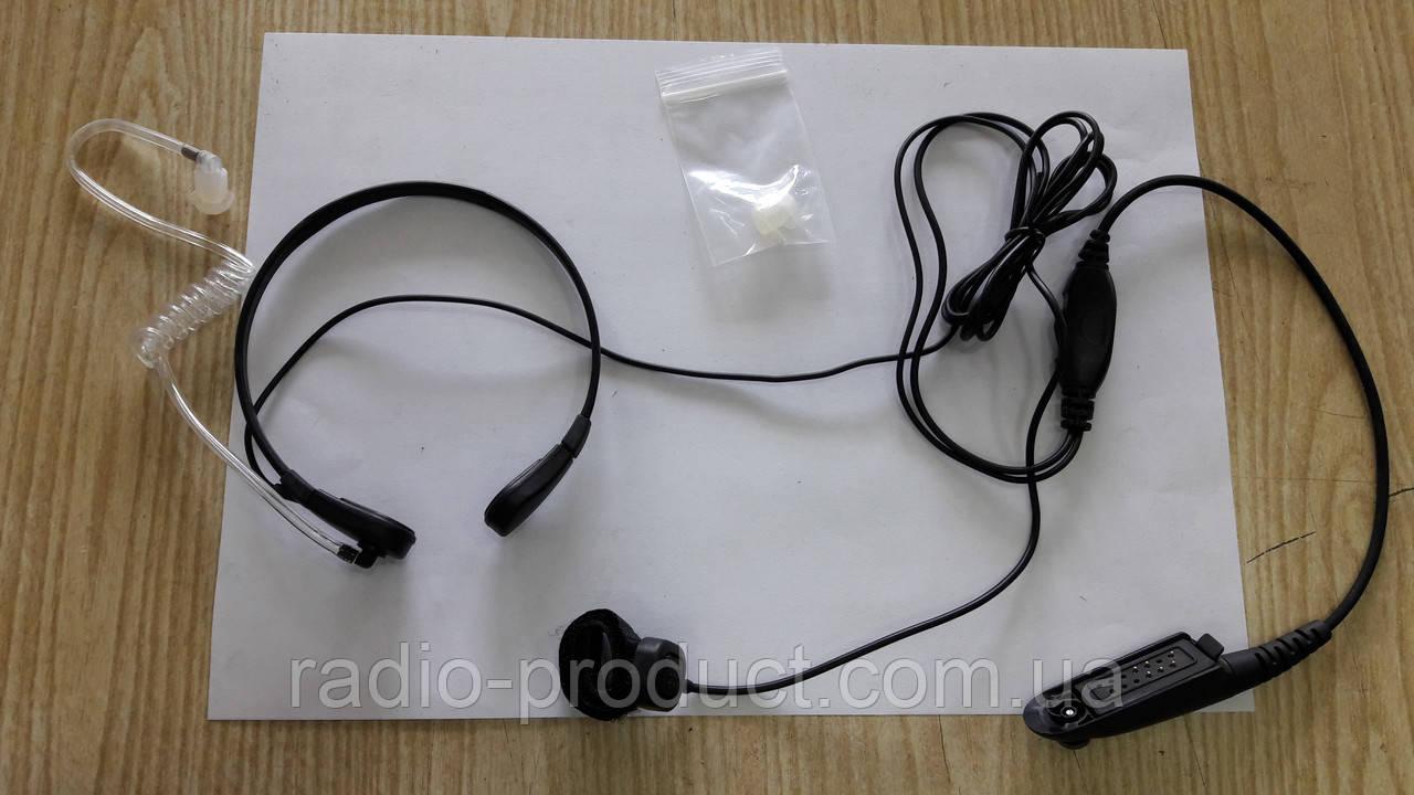 Ларингофон двухпроводный ML-15 M4 для радиостанций Motorola GP