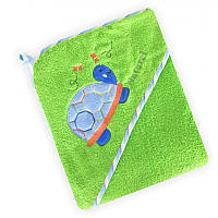Полотенце Baby Mix CY-25 Green Черепашка