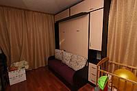 Шкаф-кровать с диваном и антресолями, фото 1