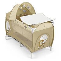 Манеж-кроватка CAM Daily Plus бежевый