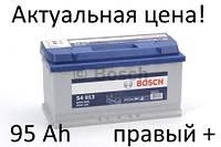 Аккумулятор Bosch S4 95 Ah 0092S40130 Пусковой ток 800 A, Правый +, Размеры на картинке