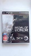 Видео игра Medal of Honor (PS3) pyc.