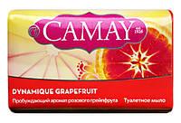Туалетное мыло Camay Dynamique Grapefruit Аромат розового грейпфрута - 85 г.