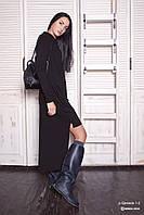 Платье женское, черное, осень, зима P-GENESIS1-2