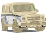 WIDE BODY KIT Mansory (style) for Mercedes G-class