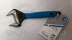 Разводной ключ от 0 до 38 мм с тонкими губками MY tools 361-200.Киев.