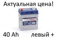 Аккумулятор Bosch S4 40 Ah 0092S40190 Пусковой ток 330 A, Левый +, Размеры на картинке