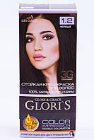 Крем - краска для волос GLORIS 1.2 Черный