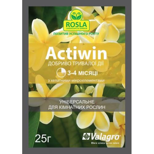 Комплексное минеральное удобрение Actiwin (Активин), 25 г — для комнатных растений (NPK 12.5.20+ME, 3-4 мес.)