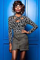 Блуза Бриз комбинированный 3