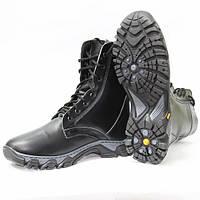 Берцы тактические ботинки Evolution натуральный мех не скользящие зимние