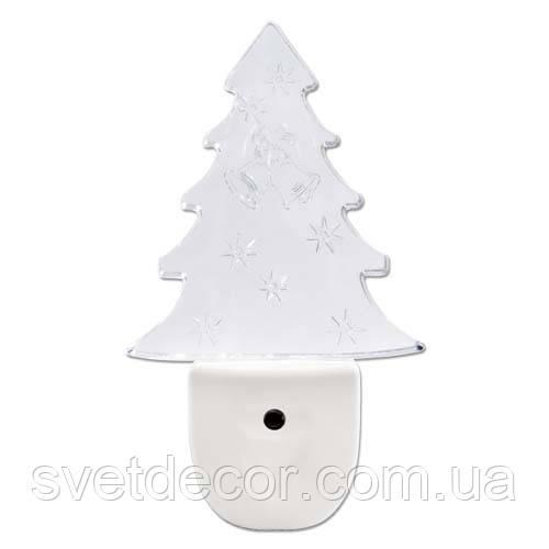 Светильник- ночник Feron FN1102 0, 3W  (дерево)