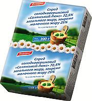 "Спред ""Крестьянский Люкс"" 72,5%, фас 200 г, 400 г."