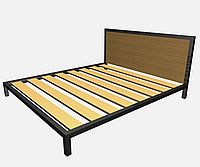 Кровать на металлокаркасе лофт КP-TL 1