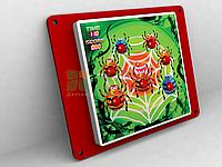 Игровая настенная панель «Паучки»