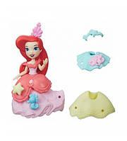 Hasbro DPR  Игровой набор маленькая кукла Ариэль и модные аксессуары ( В5327/В5328)