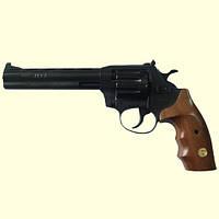 """Револьвер Alfa мод 461 6"""" под патрон флобера б\у (вороненный, дерево)"""