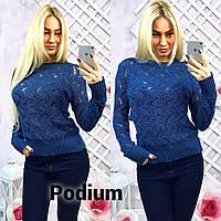 Красивый женский свитер (арт. 470566403)