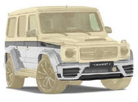 G-WIDE BODY KIT Mansory (style) for Mercedes G-class