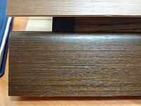 Шпонированный плинтус kluchuk, коллекция евро, 60х18х2400 мм