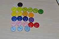 Пуговицы швейные.2 дырочки 8-9 мм.