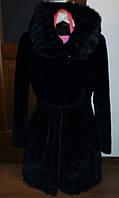 Женская шуба мутон+норка