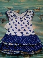 """Платье для девочки """"Бабочки""""-раз-80см .хлопок-100%.Украина"""