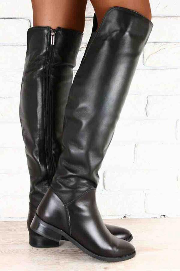 dd93c756b Сапоги ботфорты женские демисезонные/зимние кожа/замша разные цвета Uk0394