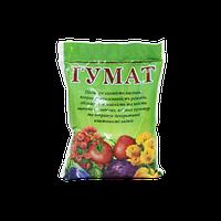 Удобрение для повышения приживаемости рассады овощных, плодовых, декоративных и ягодных растений Гумат, 150г