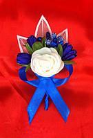 Бутоньерка роза для жениха, гостей, свидетелей