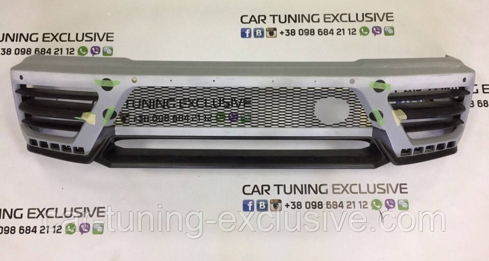 MANSORY front bumper I with LED DRL for Mercedes G-class