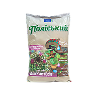 Субстрат для поддержки аквабаланса с натуральными составляющими для кактусов с декоративными камнями Субстрат