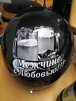 Печать на воздушных шарах градиентная