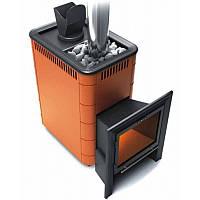 Дровяная печь термофор гейзер 18 Терракота VITRA