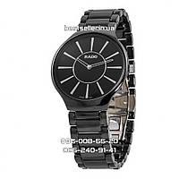 Часы Rado Jubile Ceramic 38mm Black/Silver. Реплика: ААА.