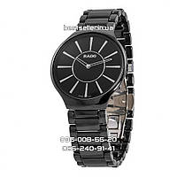 Часы Rado ceramic quartz 5053 black/silver. Класс: ААА., фото 1