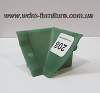 Угол внутренний  зеленый 208
