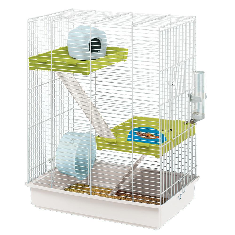 Ferplast HAMSTER TRIS Трехэтажная клетка для хомяков