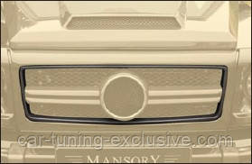 MANSORY frame for grill mask cover I / II for Mercedes G-class