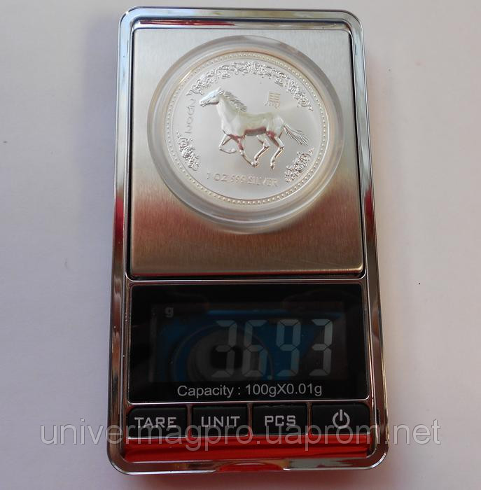 Высокоточные ювелирные весы до 500 г ( шаг 0,01)